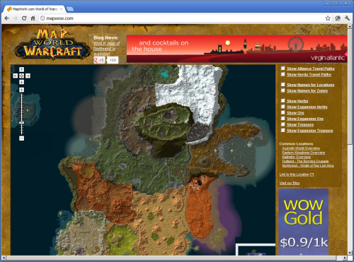 World of mapcraft wow slippy maps publicscrutiny Images